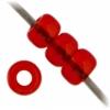 Miyuki Seed Bead 11/0 Red Orange Transparent